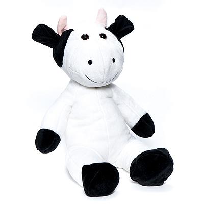 Vaca Blanca y Negra Mini