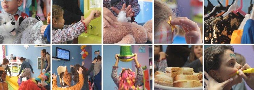actividades cumpleaños infantil peluches básico