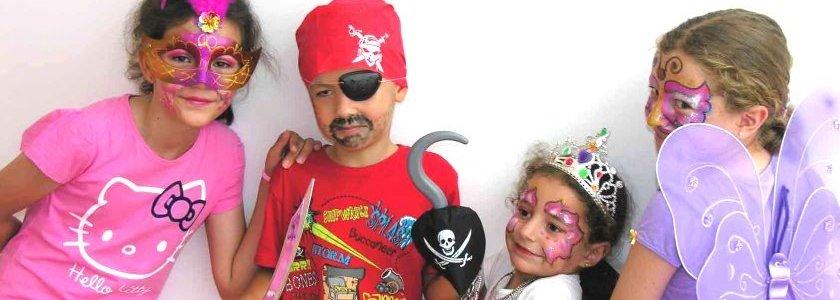 actividades cumpleaños infantil disfraces